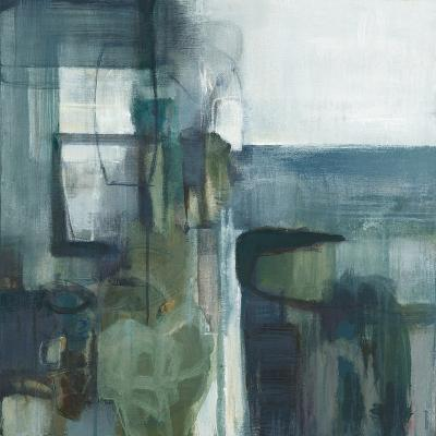 Blue Geometry-Terri Burris-Art Print