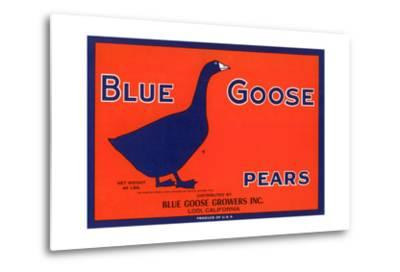 Blue Goose Pear Label