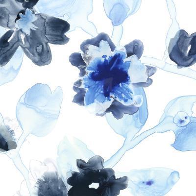 Blue Gossamer Garden I-June Vess-Premium Giclee Print