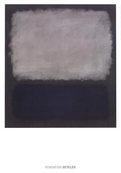 Blue & Gray, 1961-Mark Rothko-Art Print