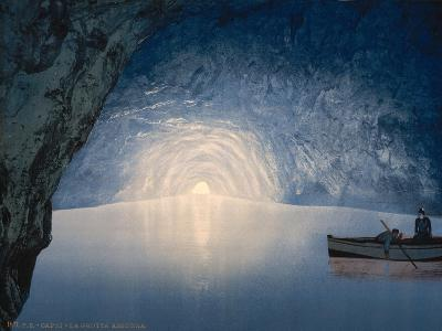 Blue Grotto, Capri Island, Italy, C.1890-C.1900--Giclee Print