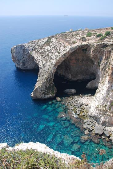 Blue Grotto-alanf-Photographic Print