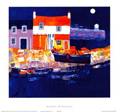 Blue Harbour-George Birrell-Collectable Print