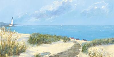 Blue Haven Bay I-Hazel Barker-Art Print
