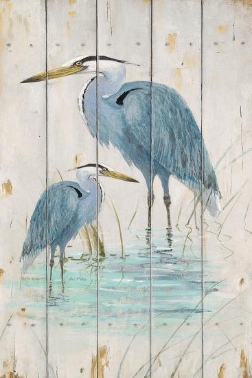 Blue Heron Duo-Arnie Fisk-Art Print