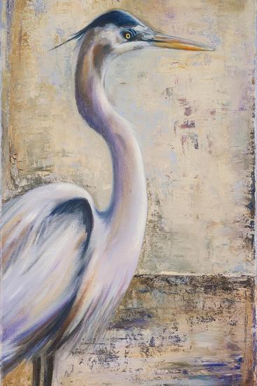 Blue Heron I-Patricia Pinto-Premium Giclee Print