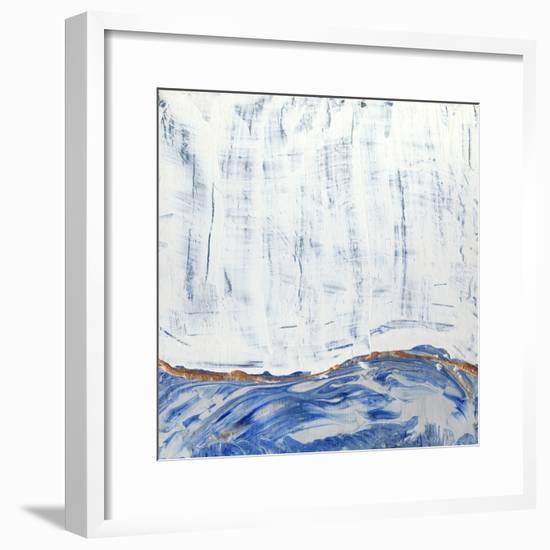 Blue Highlands II-Alicia Ludwig-Framed Art Print