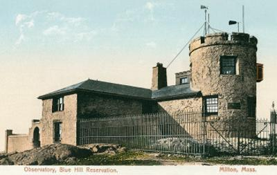 Blue Hill Reservation Observatory, Milton, Mass.
