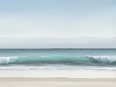 Blue Horizon I-Dawn Reader-Art Print