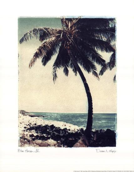 Blue Horizon IV-Doreen Wynja-Art Print