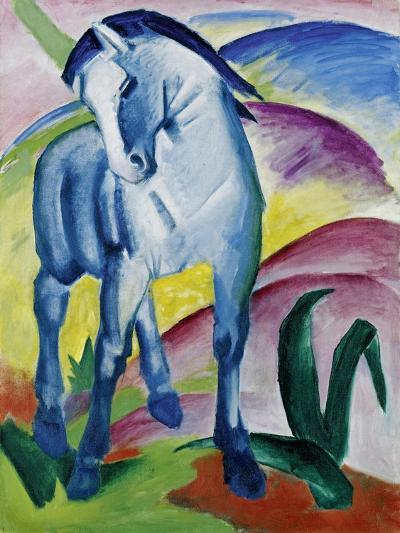 Blue Horse I, 1911-Franz Marc-Giclee Print