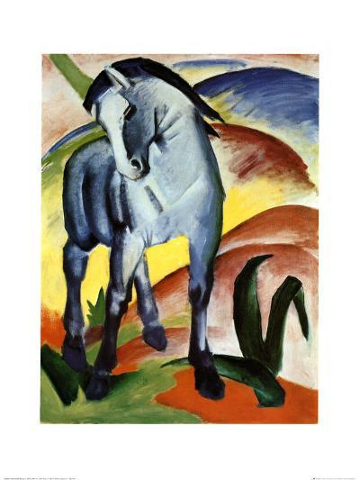 Blue Horse I-Franz Marc-Art Print