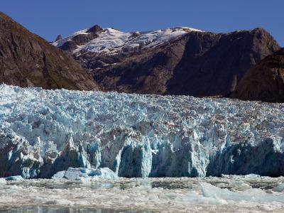 Blue Ice Along Glacier Front, Leconte Glacier, Alaska-Ralph Lee Hopkins-Photographic Print