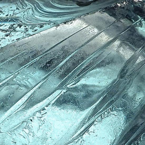 Blue Ice II-Monika Burkhart-Photographic Print
