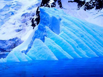 Blue Icebergs, Antarctica-Joe Restuccia III-Photographic Print