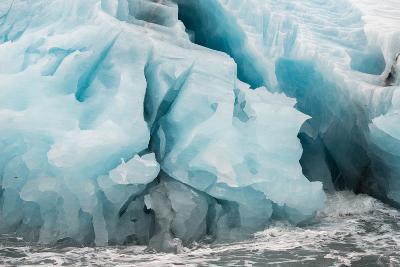 Blue Icebergs in Antarctica-Tom Murphy-Photographic Print