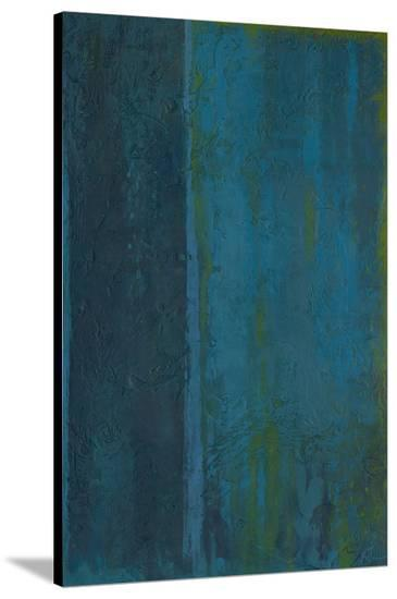 Blue In Green-Jeannie Sellmer-Stretched Canvas Print