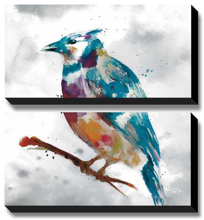 Blue Jay-Stephane Fontaine-Canvas Art Set