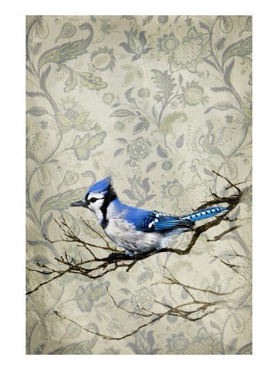 Blue Jay-GI ArtLab-Premium Photographic Print