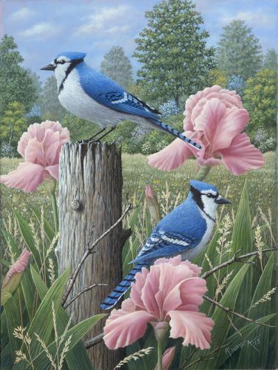 Blue Jays-Robert Wavra-Giclee Print
