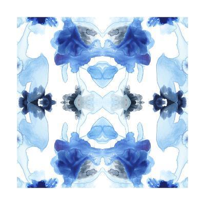 Blue Kaleidoscope I-June Vess-Art Print