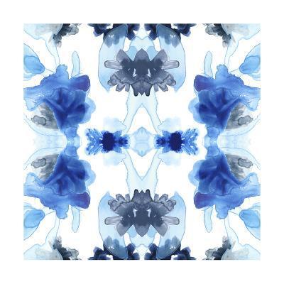 Blue Kaleidoscope II-June Vess-Art Print