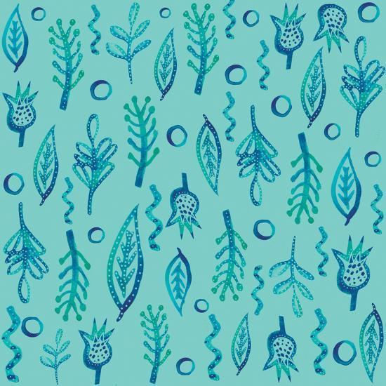 Blue Kelp 2-Kristine Lombardi-Art Print