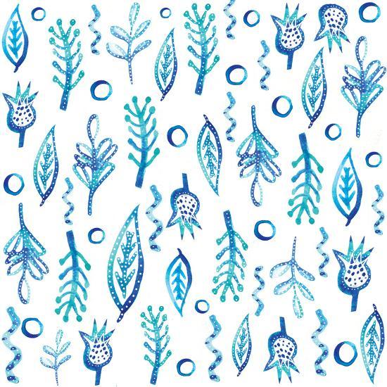 Blue Kelp-Kristine Lombardi-Art Print