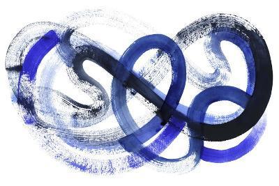 Blue Kinesis II-Grace Popp-Art Print