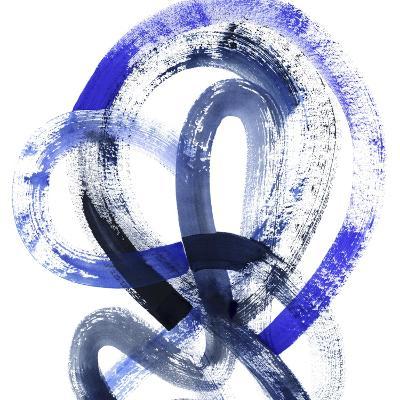 Blue Kinesis IV-Grace Popp-Art Print