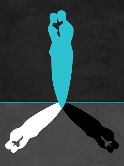 Blue Kiss Shadow-Felix Podgurski-Art Print