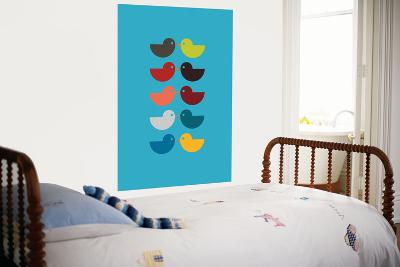Blue Kiss-Avalisa-Giant Art Print