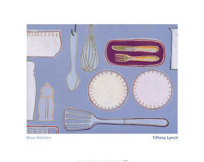 Blue Kitchen-Tiffany Lynch-Art Print