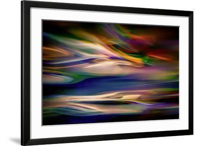 Blue Lagoon in the Evening-Ursula Abresch-Framed Photographic Print