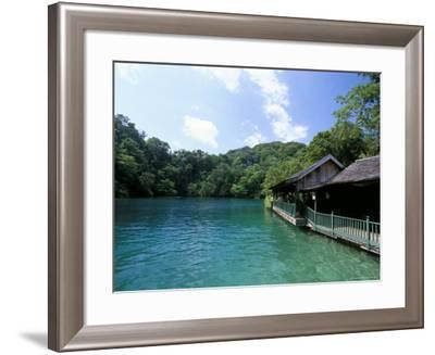 Blue Lagoon Port Antonio Jamaica West Indies Central America Photographic Print By Sergio Pitamitz Art Com