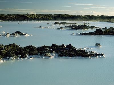 Blue Lagoon, Svartsengi, Iceland, Polar Regions-Robert Francis-Photographic Print