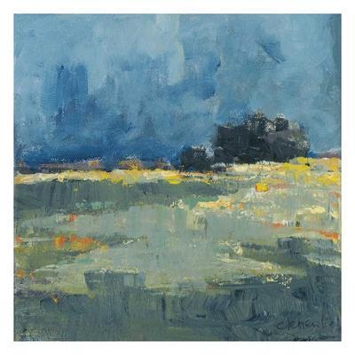 Blue Landscape-Jacques Clement-Art Print