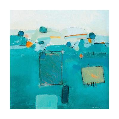 Blue Landscape-David O'Connor-Art Print