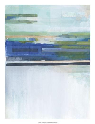Blue Lapis Waterfall I-Alison Jerry-Giclee Print
