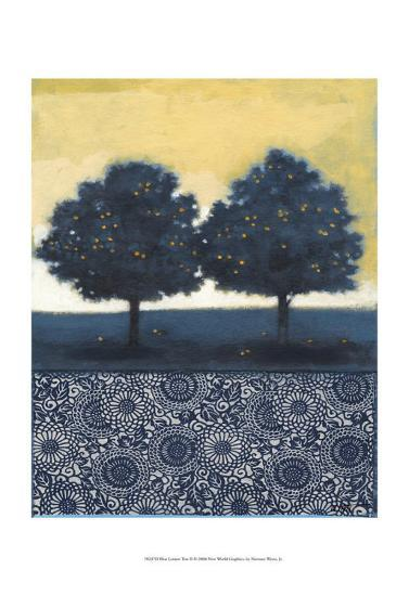 Blue Lemon Tree II-Norman Wyatt Jr^-Art Print