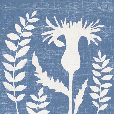 Blue Linen III-Megan Meagher-Art Print