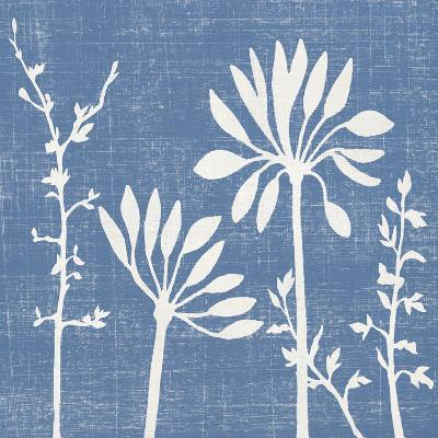 Blue Linen IV-Megan Meagher-Art Print