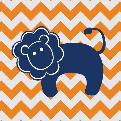 Blue Lion-N^ Harbick-Art Print