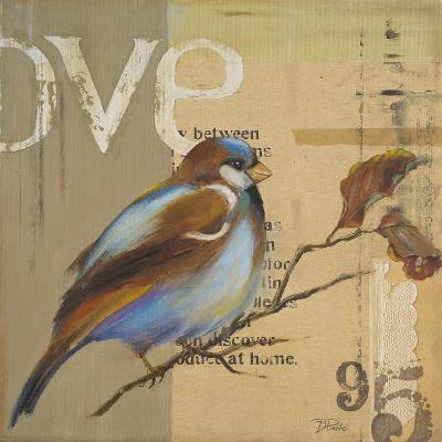 Blue Love Birds II-Patricia Pinto-Premium Giclee Print