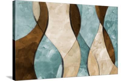 Blue Lyrical I-Lanie Loreth-Stretched Canvas Print