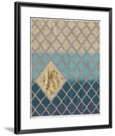 Blue Mahal I-Vanna Lam-Framed Art Print