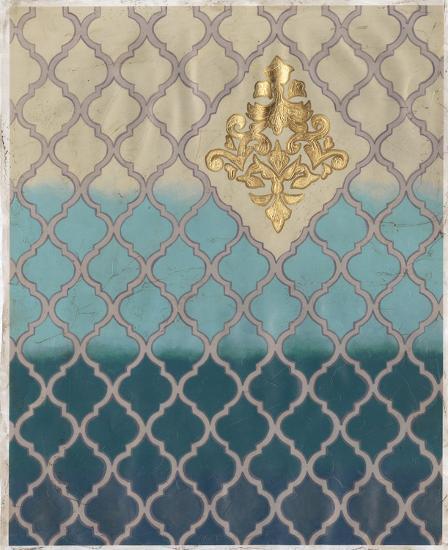 Blue Mahal II-Vanna Lam-Art Print