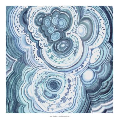 Blue Malachite II-Julie Silver-Giclee Print