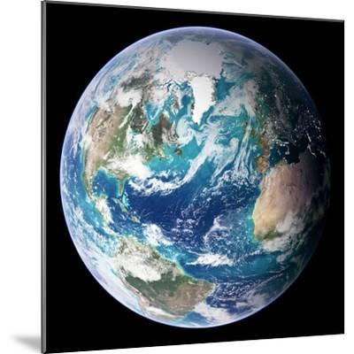 Blue Marble Image of Earth (2005)--Mounted Premium Photographic Print