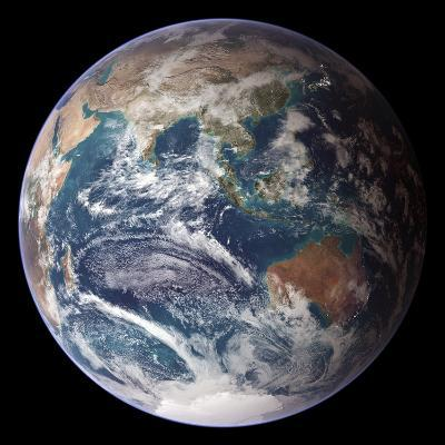 Blue Marble Image of Earth (2005)--Photographic Print